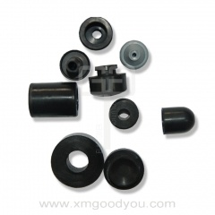 Anti vibration antiskid rubber gasket