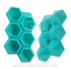 Hot Selling Silicone Ice Cube Trays Wholesale Factory 6 Cavity